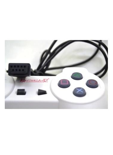 Kontorland Atari Joystick 9 Pin Dar Giriş 2 Adet Renkli